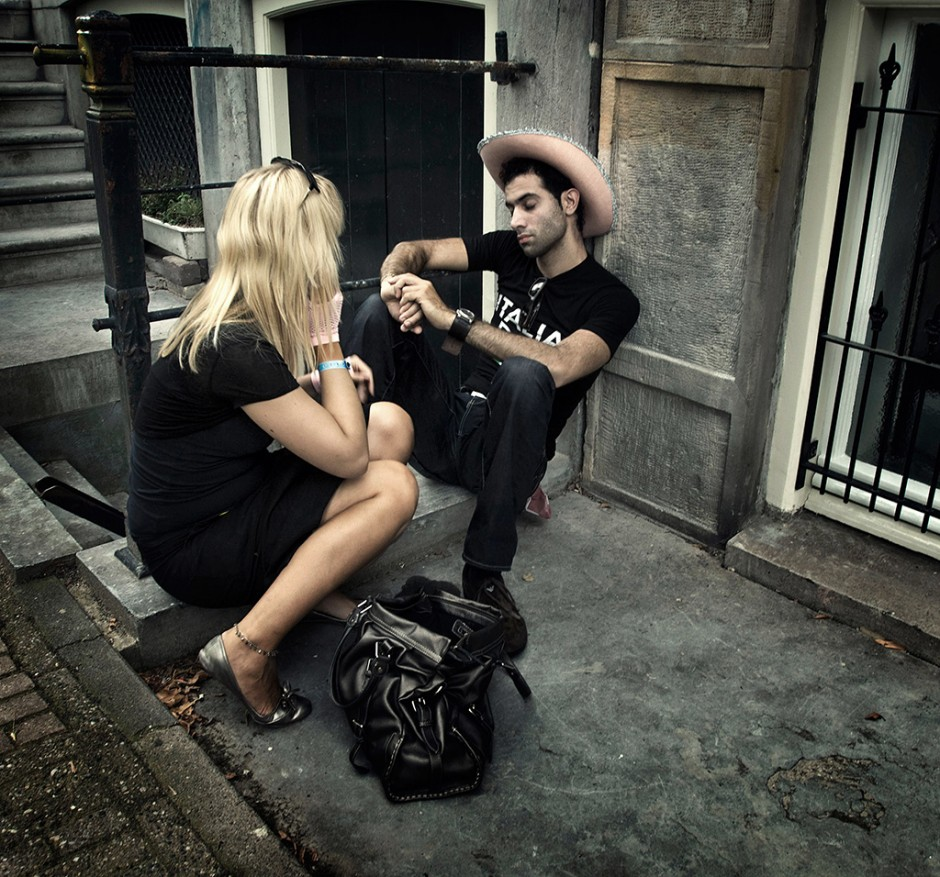 Streetphotography - Just you and me babe - Michel Verhoef Photography